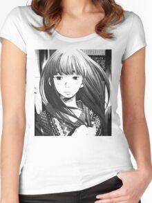 Punpun – Aiko Women's Fitted Scoop T-Shirt