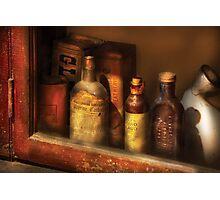 Pharmacist - Mircle Tonics Photographic Print