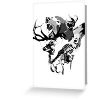 Spirit Totem Greeting Card