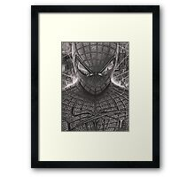 Spiderman - Guardian Of The Night Framed Print