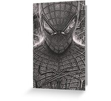 Spiderman - Guardian Of The Night Greeting Card