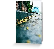 VW Camper Greeting Card