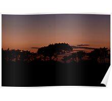 Gwendraeth Valley Savanna Sunset   Poster