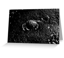The Crab Greeting Card