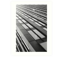 office tower infinity Art Print
