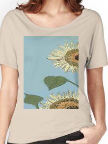 Fun Flower Women's Relaxed Fit T-Shirt