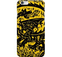 Shield up! Fear not, Medieval dragon shield t-shirt.  iPhone Case/Skin