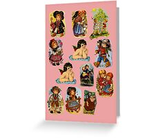 Bookmarks Greeting Card