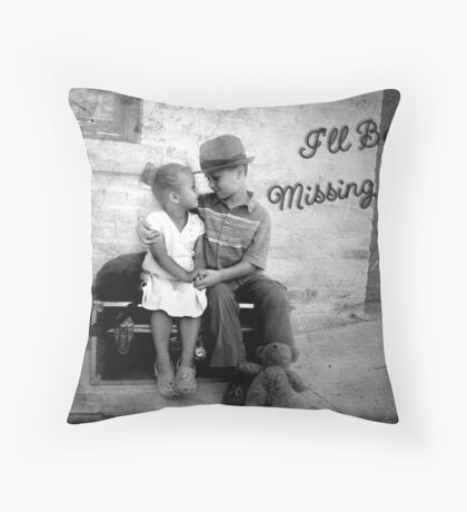I'll Be Missing You Throw Pillow