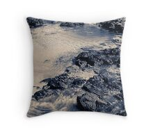 Bunbury Beach Throw Pillow