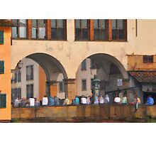 Bridge over the Arno Photographic Print
