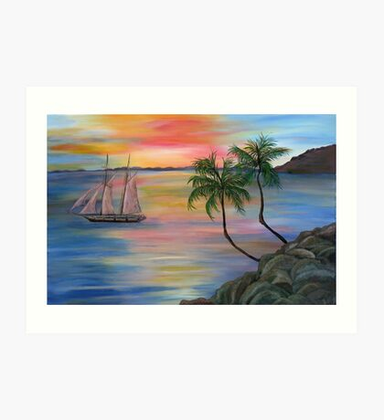 Serenity Bay Art Print