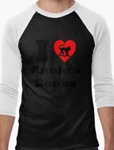 Annie's Boobs Men's Baseball ¾ T-Shirt