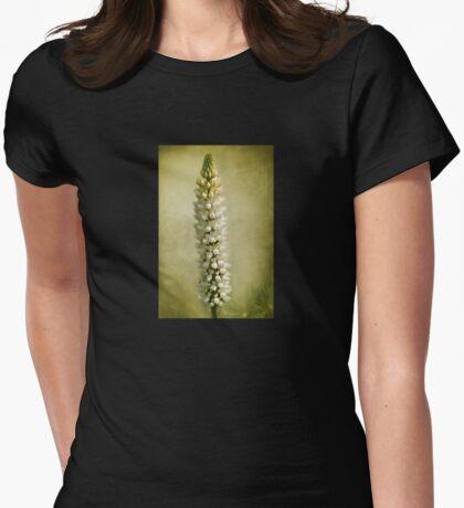 Flower fair Womens Fitted T-Shirt