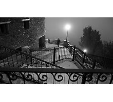 A stranger in the fog Photographic Print