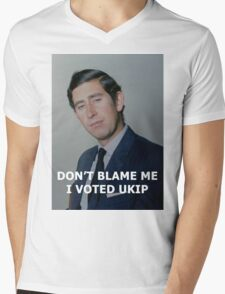 Don't Blame Me, I Voted UKIP Mens V-Neck T-Shirt