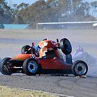 Formula Vee Crash by Dean Perkins
