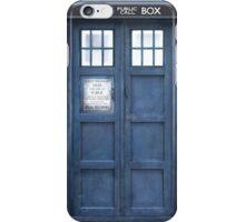 Dr. Who Tardis iPhone Case/Skin