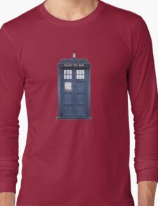 Dr. Who Tardis Long Sleeve T-Shirt