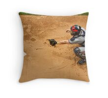 Warm Ups Throw Pillow