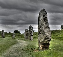 Avebury Circle #1 by Beth A
