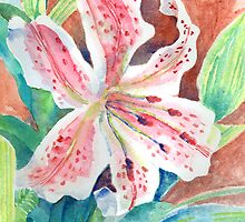 Stargazer Lily by arline wagner