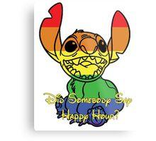 Rainbow Stitch - Happy Hour Metal Print