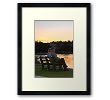 The Twilight Years Framed Print