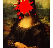 Mona Lisa Splatt by AndrewsGamarra