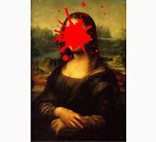 Mona Lisa Splatt Unisex T-Shirt