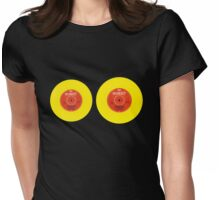 Old Vinyl Womens Fitted T-Shirt