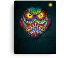 """Angry Owl by Night"" Canvas Print"