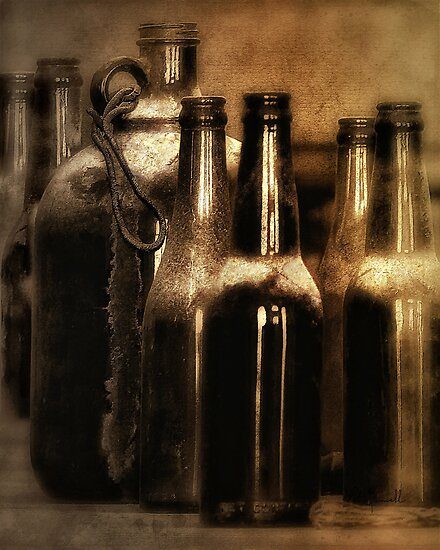 Lil Brown Jug and Friends by pat gamwell