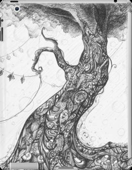 Doodle tree by fictionalfriend