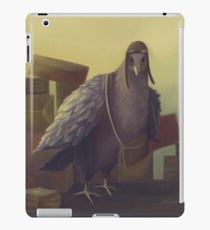 Messenger-pigeon iPad Case/Skin