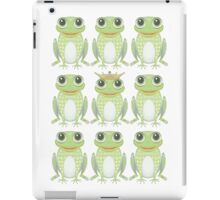 1 Heavy Crown & 9 Frogs iPad Case/Skin