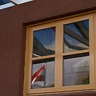Austrain Flag in the Window by Tom McDonnell