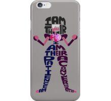 Garnet Typography iPhone Case/Skin