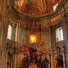 St.  Peter's Basillica by Angela King-Jones