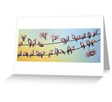 Early Birds Greeting Card