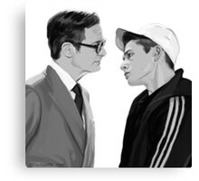 Manners, Eggsy. Canvas Print