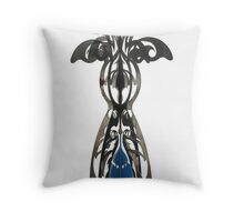 Johannesburg Street Sculpture Throw Pillow