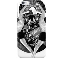 Fight For The Freedom To Love {/w Rays} iPhone Case/Skin