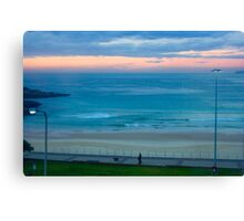 Sunrise at Bondi - Bondi Beach, Sydney, Australia Canvas Print