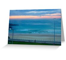 Sunrise at Bondi - Bondi Beach, Sydney, Australia Greeting Card