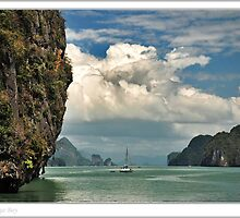 Phang Nga Bay by Adri  Padmos