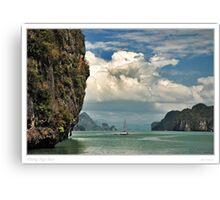 Phang Nga Bay Canvas Print