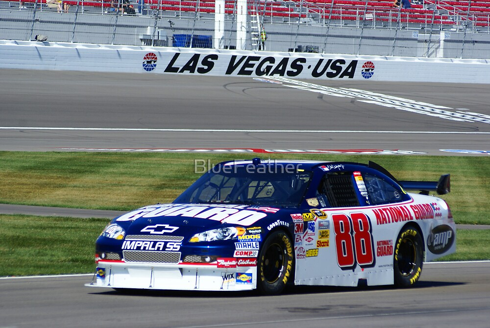 Dale Jr. at LVMS by BlueFeather