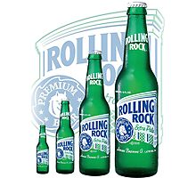 Rolling Rocks in a Row: COLOR Photographic Print