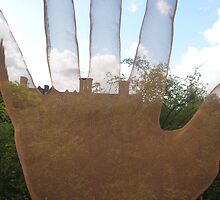 Ghost Hand (Leicester Royal Botanic Gardens July '09) by fatchickengirl